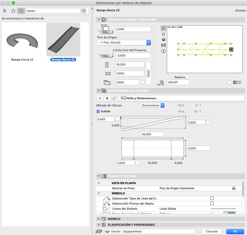 RE: ¿Cómo modelo una rampa en Archicad?