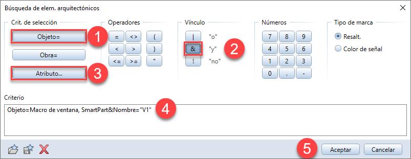 RE: ¿Cómo filtrar los smartparts por el atributo Nombre en Allplan?