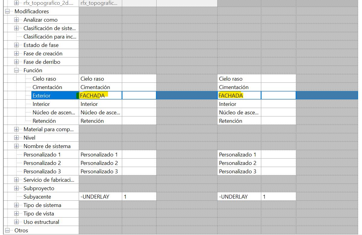 RE: ¿Cómo exportar a DWG desde Revit y que se cree una capa diferente por cada tipo de muro?