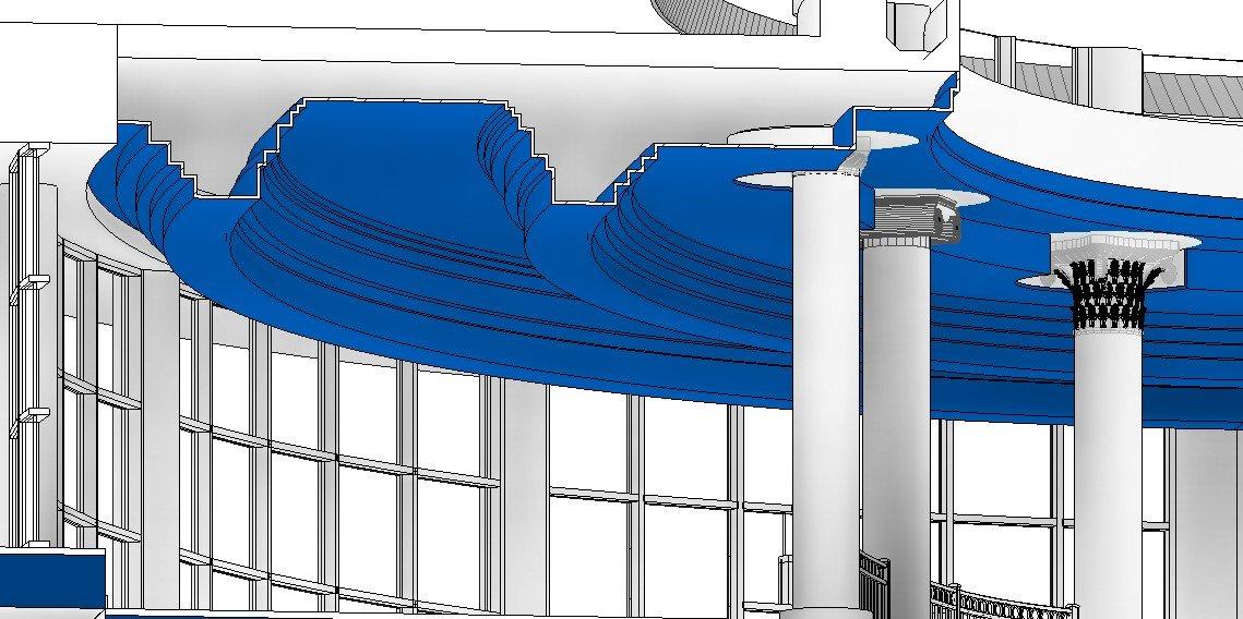 RE: ¿Cuál es la mejor manera de hacer cajillos/cajeados/foseados en techos de Revit?