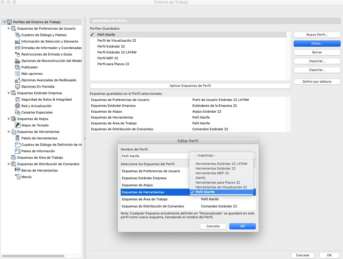 RE: ¿Cómo copiar una paleta de herramientas de un perfil de entorno de trabajo a otro en ArchiCAD?