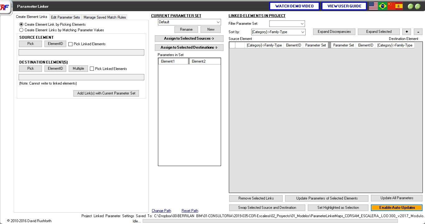 RE: ¿Cómo hacer que todos los parámetros compartidos en vínculos aparezcan en una tabla de planificación en Revit?