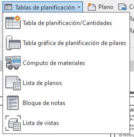¿Cómo crear una tabla de planificación de revisiones en Revit 2020?