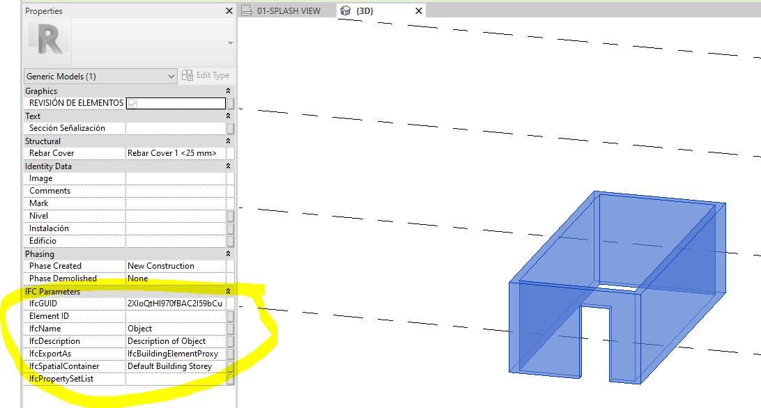 RE: ¿Cómo mapear parametros de un archivo .IFC a parametros nativos de Revit?