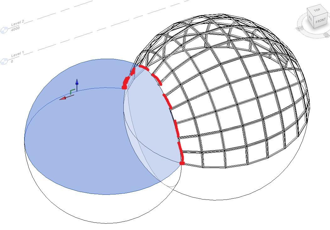 Interseccion de esferas