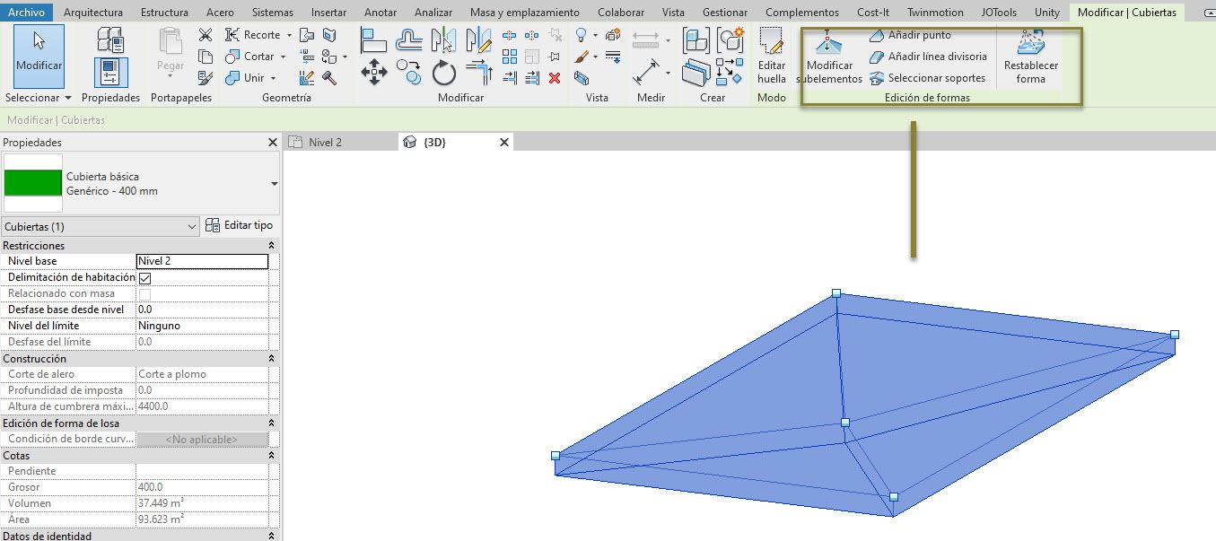 RE: Modelado de borde de losa con parte inferior inclinada | Revit