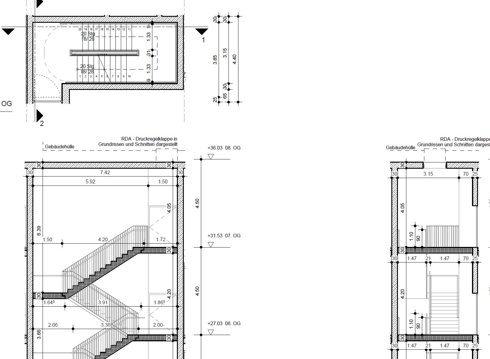 Escalera prefabricada tipo